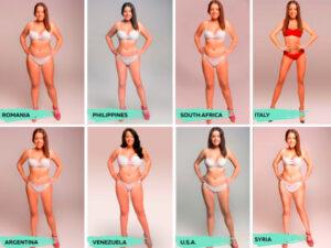 الجسم المثالي حول العالم
