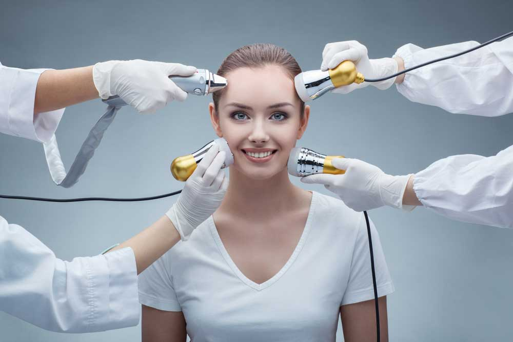 إجراءات التجميل