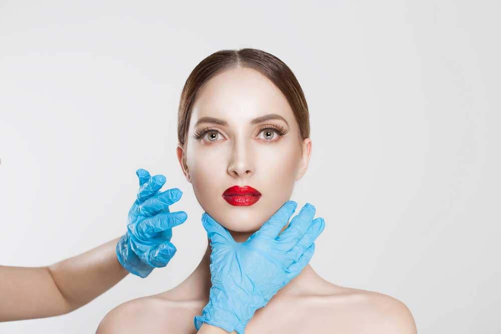 تجميل الوجه بإعادة تشكيل عظام الفك